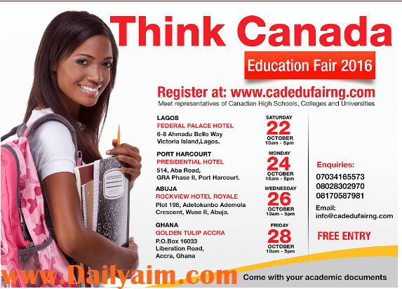 How to Register Think Canada Education Fair for Free