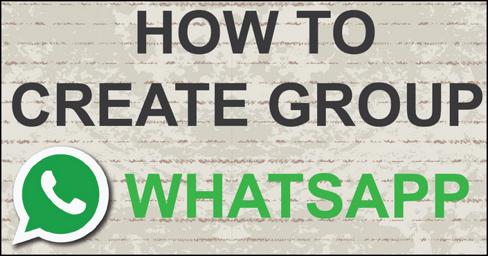 How To Create Whatsapp Groups