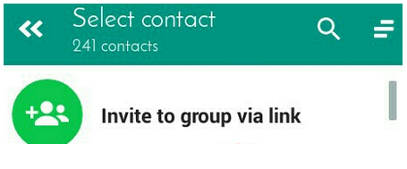 Inviting to Groups via Links