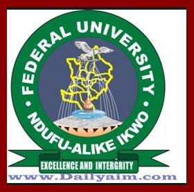 2017/2018 Funai Provisional Admission List