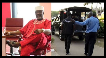 Senator Dino Melaye Arrested in Abuja Airport