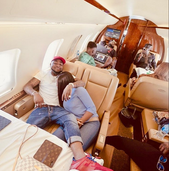 Davido Touchdown Babcock University