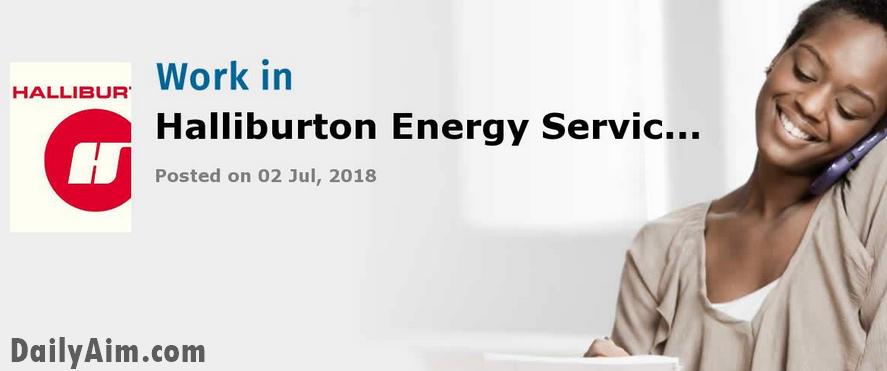 Coordinator, HSE at Halliburton Energy Services Nigeria Limited | Hot Job In Nigeria