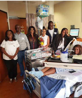 Linda Ikeji Gives Birth To Baby Boy
