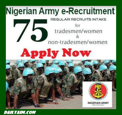 Nigerian Army Recruitment 2019/2020