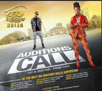 Big Brother Naija Audition Dates