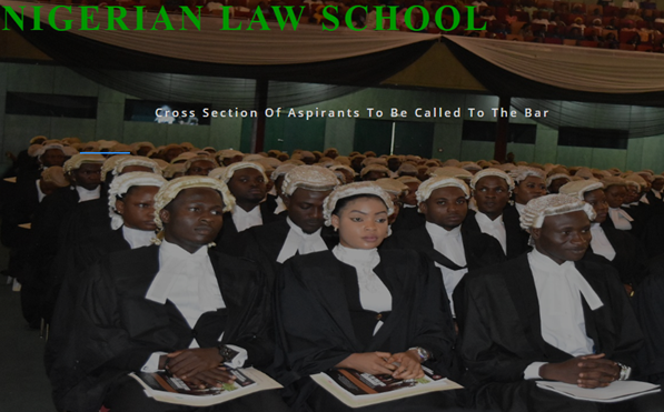 Nigerian Law School Application Form