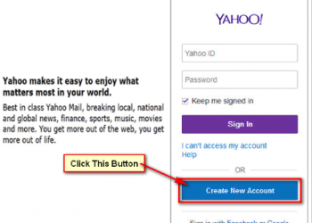 Get A New Yahoo Email