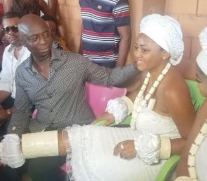 Regina Daniels reportedly weds Ned Nwoko in a traditional ceremony