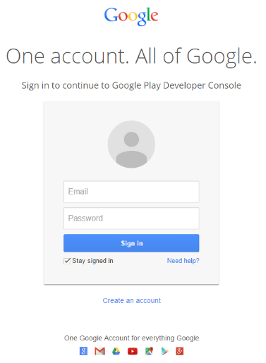 Create a Google Wallet