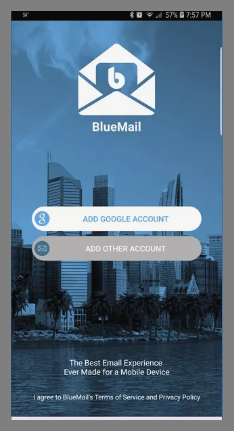 Blue Mail