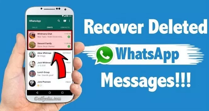 Recover Deleted Whatsapp Images | Sign Up Account