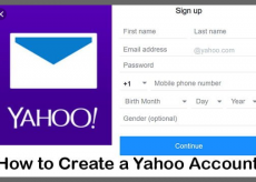 Create Yahoo Account