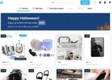 Wish shopping site image