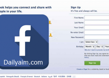 Facebook Sign Up For