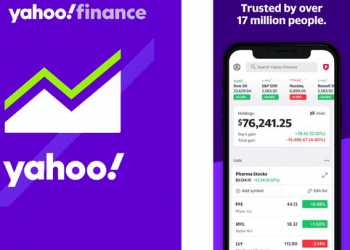 Yahoo Finance App Picture