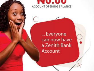 Zenith Bank Account Opening