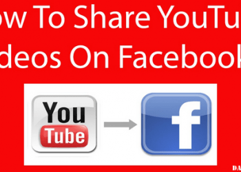 How to Share Youtube Video in Facebook