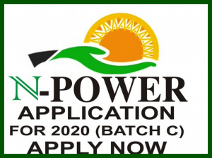 www.npower.gov.ng 2020 Recruitment