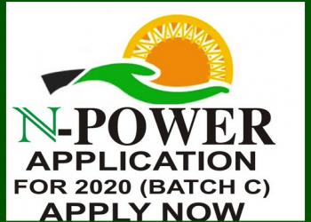 www.npower.gov.ng 2020 Recruitment