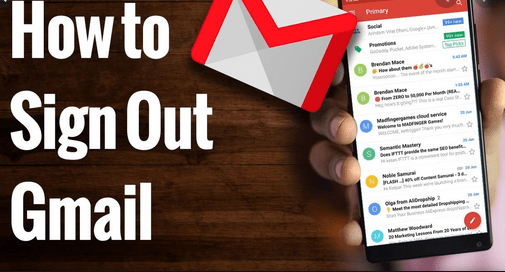 Sign Out of Gmail on iPhone | How to Sign Out of Gmail Account Quickly