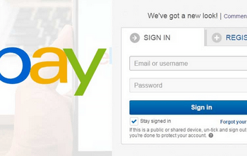 eBay Sign In Account