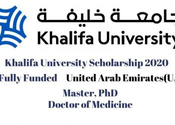 Khalifa University Scholarships