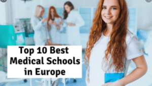 Best Medical Schools in Europe