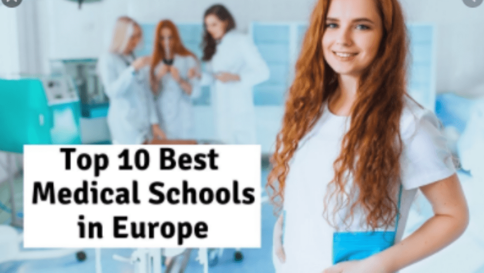 Best Medical Schools in Europe Where You Can Study