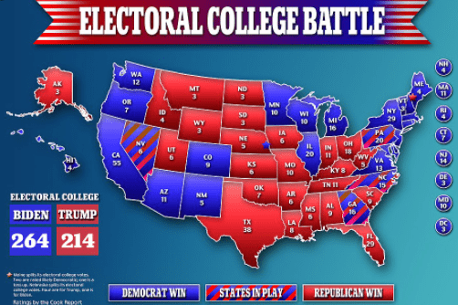 US Election Update | Check 2020 US Election Results As Is Counting