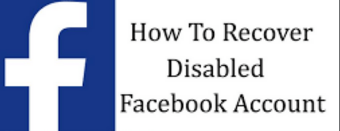 Recover Disabled Facebook Account | Reactivate fb.com