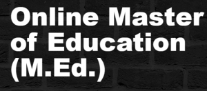 Master's In Education Online Programs