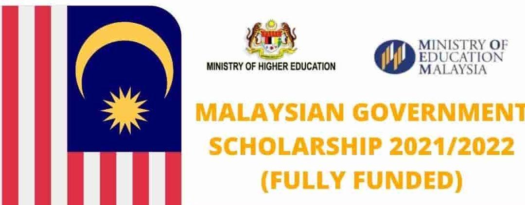 Malaysian Government Scholarship Program For International Students